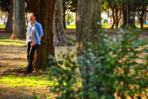 代々木公園撮影